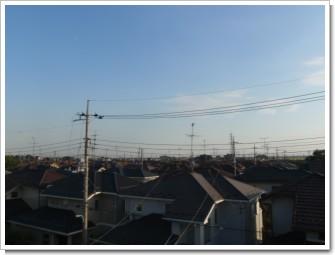 北川辺町陽光台T様 東京タワー方向の景色。.JPG