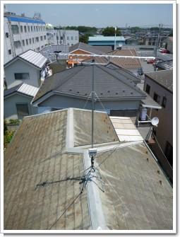 北本市宮内H様 アンテナ工事完了。.JPG