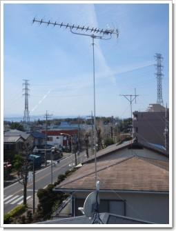 北本市下石戸下M様 アンテナ工事完了。.JPG