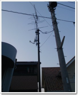 北本市山中K様 アンテナ工事完了。.JPG