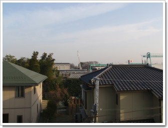 北本市山中K様 東京タワー方向の景色。.JPG