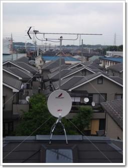 北本市二ツ家K様 アンテナ工事完了。.JPG