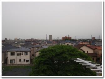 北本市二ツ家K様 東京タワー方向の景色。.JPG