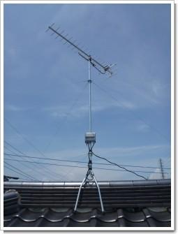 北本市東間O様 アンテナ工事完了。.JPG