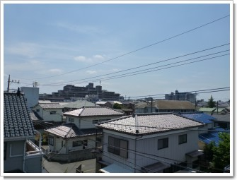 北本市東間O様 東京タワー方向の景色(完了)。.JPG