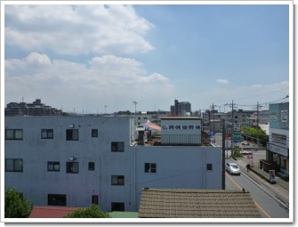 北本市東間M様 東京タワー方向の景色(完了)。.JPG