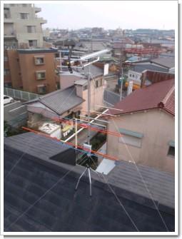 北本市西高尾K様 アンテナ工事完了。.JPG