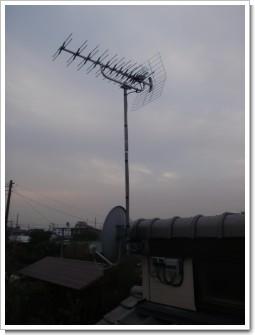 北本市中丸G様 アンテナ工事完了。.JPG