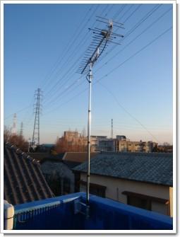 北本市中丸S様 アンテナ工事完了。.JPG