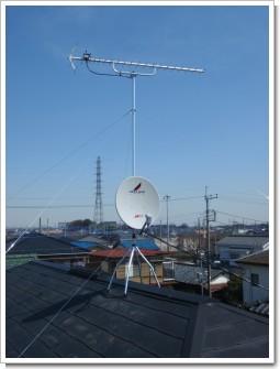 北本市中丸Y様 アンテナ工事完了。.JPG