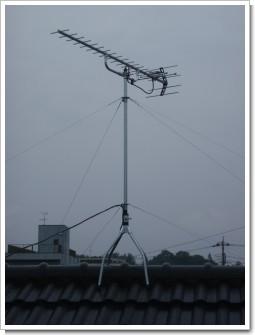 北本市北本S様 アンテナ工事完了。.JPG