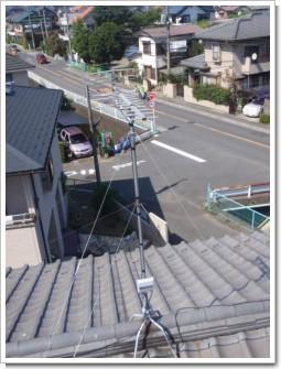 北本市本町K様 アンテナ工事完了。.JPG