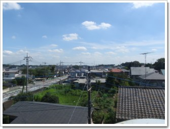北本市本町K様 東京タワー方向の景色(完了)。.JPG