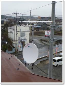 蓮田市関山K様 アンテナ工事完了。.JPG
