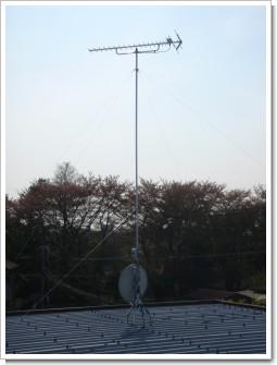 蓮田市黒浜K様 アンテナ工事完了。.JPG
