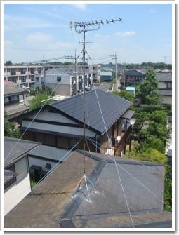 蓮田市桜台M様 アンテナ工事完了。.JPG