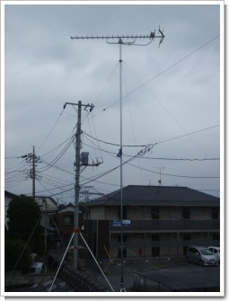 蓮田市東T様 アンテナ工事完了。.JPG