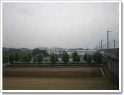 鷲宮町東大輪O様 東京タワー方向の景色。.JPG