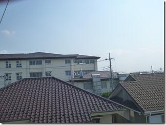 幸手市香日向M様 東京スカイツリー方向の景色(完了)。