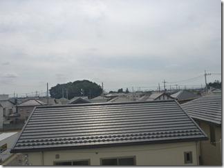 上尾市小泉M様 東京スカイツリー方向の景色(完了)。