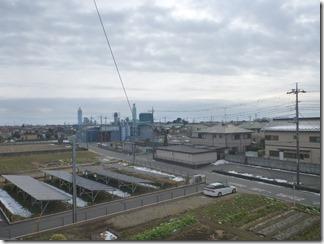 行田市南河原K様 東京スカイツリー方向の景色。