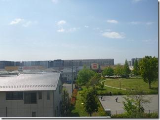 久喜市東大輪M様 東京スカイツリー方向の景色(完了)。