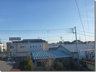行田市佐間S様 東京スカイツリー方向の景色。