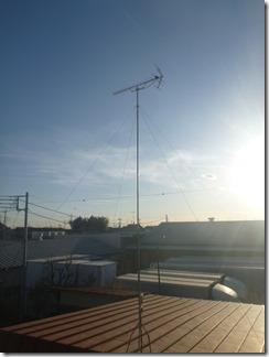 行田市佐間S様 アンテナ工事完了。