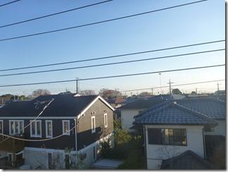 久喜市桜田K様 東京スカイツリー方向の景色。