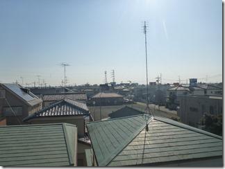 鴻巣市新宿O様 東京タワー方向の景色(完了)。