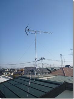 鴻巣市新宿O様 アンテナ工事完了。