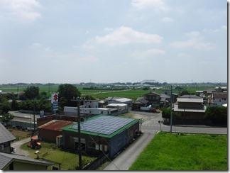 行田市中江袋N様 東京スカイツリー方向の景色(完了)。