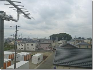 上尾市小泉M様 東京スカイツリー方向の景色。