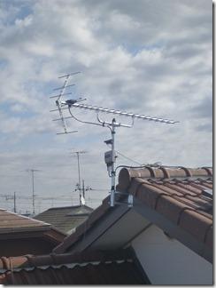 熊谷市上須戸K様 アンテナ工事完了。