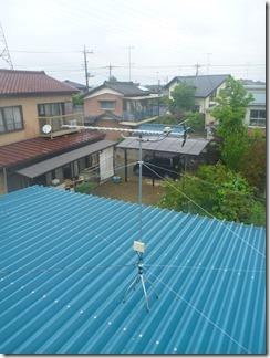 鴻巣市屈巣H様 アンテナ工事完了。