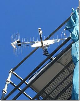 熊谷市久保島M様 アンテナ工事完了。