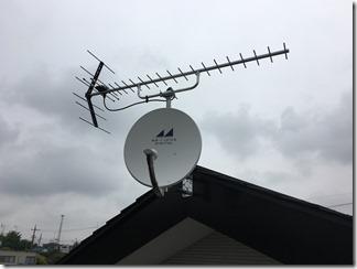 行田市埼玉M様 アンテナ工事完了。