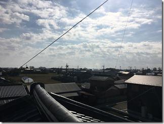鴻巣市笠原S様 東京スカイツリー方向の景色(完了)。
