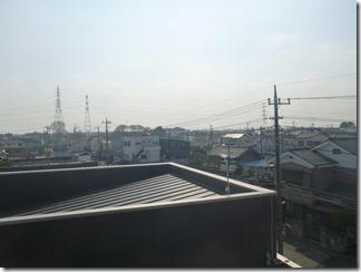 鴻巣市稲荷町Y様 東京スカイツリー方向の景色。