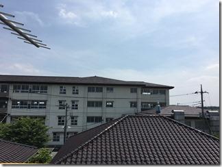 幸手市香日向M様 東京スカイツリー方向の景色。