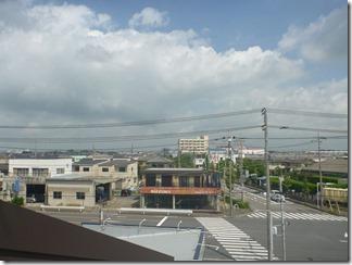行田市長野I様 前橋局方向の景色(完了)。