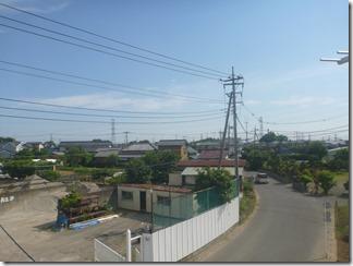 宮代町山崎C様 東京スカイツリー方向の景色(完了)。
