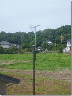宮代町山崎C様 アンテナ工事完了。