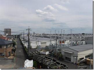 桶川市朝日S様 東京スカイツリー方向の景色。