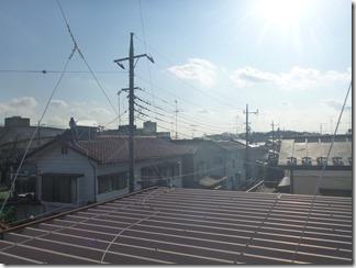 蓮田市黒浜T様 東京スカイツリー方向の景色。