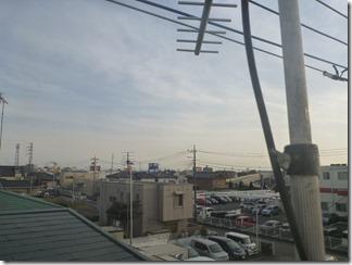 鴻巣市新宿O様 東京スカイツリー方向の景色。