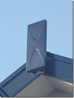 蓮田市西新宿K様 アンテナ工事完了(UHF)。