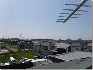 鴻巣市鴻巣S様 東京スカイツリー方向の景色。
