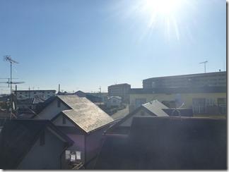 熊谷市久下K様 東京スカイツリー方向の景色。